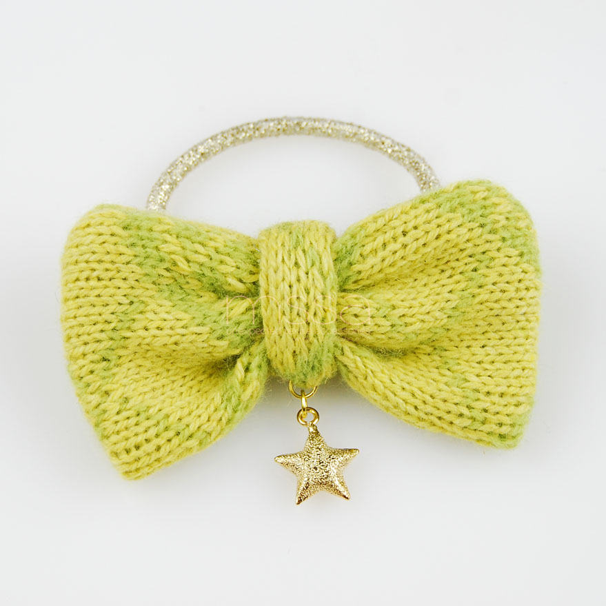 MSSA - Sweet bow Pony in Apple green